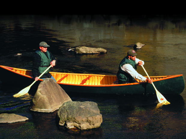 Atkinson Traveller Canoe - Brad in Maine