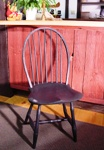Loop Back Windsor Chair